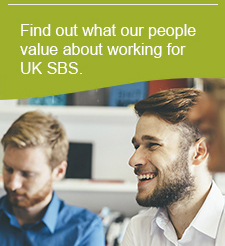 Find out what our people value about working for UK SBS