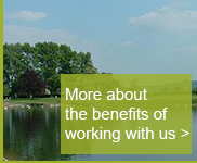 More about the benefits of working with us